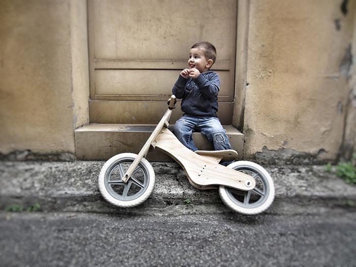 Dude Woodbike