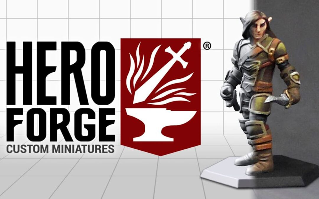 Kickstarter – Hero Forge Customizable 3D Miniatures